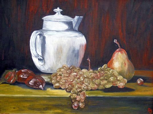 Sergei Nikolayevich Khodorenko-Zatonsky. Still life with fruits