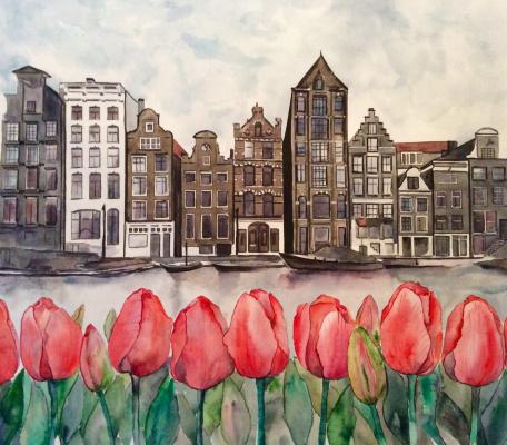Yana Prados. Tulip