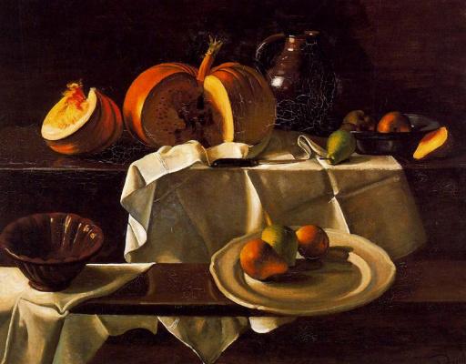 Andre Derain. Still life with pumpkin
