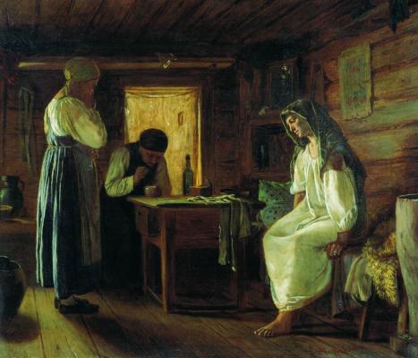 Firs Sergeevich Zhuravlev. Wise woman Kaluga Regional Art Museum