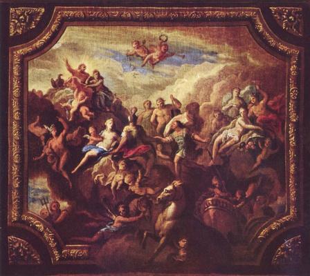 Джеймс Торнхилл. Собрание богов на Олимпе