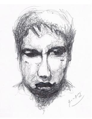 Arturo Carmona. AutoportraitII, (Bernardo_Santiago_Angeles)