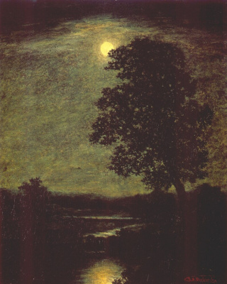 Ralph Albert Blaklock. Moonlight