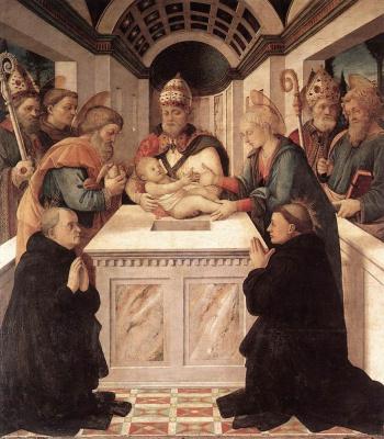Fra Filippo Lippi. Circumcision