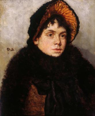 Мария Константиновна Башкирцева. Female portrait