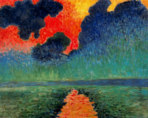 Andre Derain. The effect of the sun on the water, London