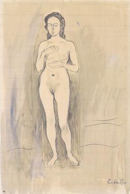 Ferdinand Hodler. Nude