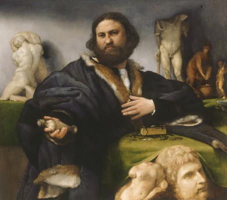 Lorenzo Lotto. Andrea Odoni