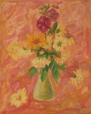 Larissa Lukaneva. Autumn bouquet