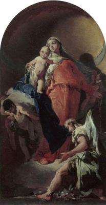 Джованни Баттиста Тьеполо. Virgin and Child with an Angel