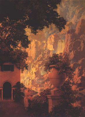 Максфилд Пэрриш. Восход солнца