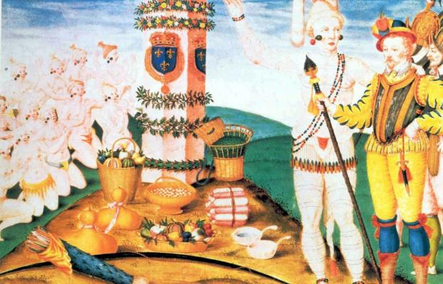 Теадор Де Бри. Феодор, после монах Жак