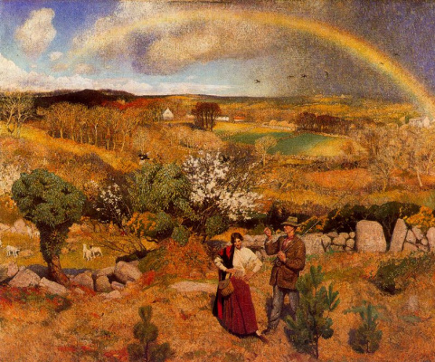 Laura Knight. Rainbow