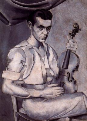 Луис Фернандес. Автопортрет