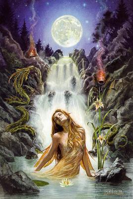 Роуз Хип. Лунный водопад