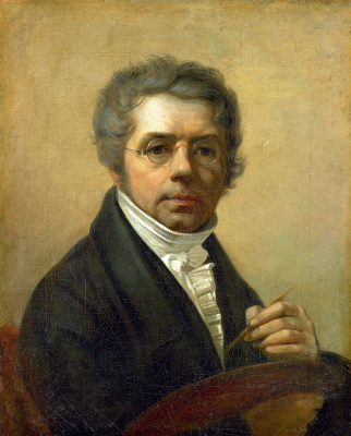 Alexey Gavrilovich Venetsianov. Self-portrait