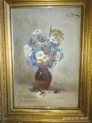 Fedor Karlovich Burchardt. Bouquet