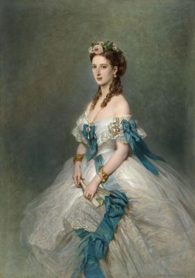 Франц Ксавер Винтерхальтер. Александра, принцесса Уэльская