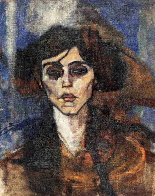 Amedeo Modigliani. Portrait Of Maud Abrantes