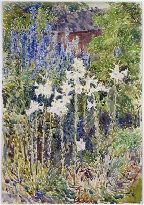 Чайльд Гассам. Цветочный сад