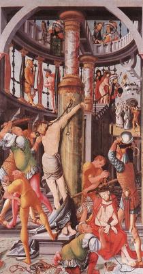 Йорг Ратгеб. Бичевание Христа