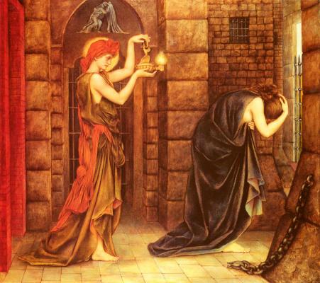 Evelyn De Morgan (Pickering). Hope in prison of despair