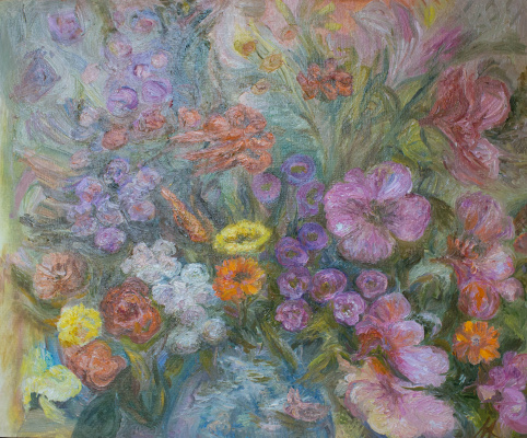 "Agnessa Morkovina. ""Just flowers"""