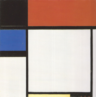 Piet Mondrian. Foxtrot B