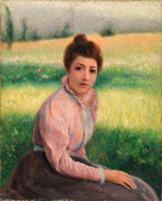 Federico Zandomenegi. On the grass