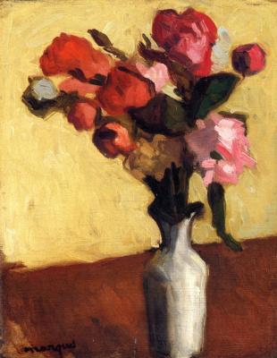 Albert Marquet. A bouquet of flowers