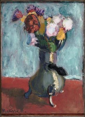 Анри Матисс. Букет цветов в кувшине для какао
