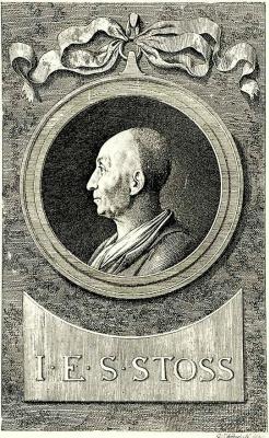 Даниэль  Николай Ходовецкий. Портрет Самюэля Иоганна Эрнста Штоша