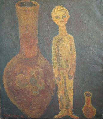 Юрий Андреевич Коваленко. Кувшин и мальчик.