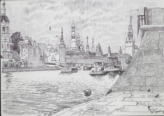 Stepan Grudinin. Moscow
