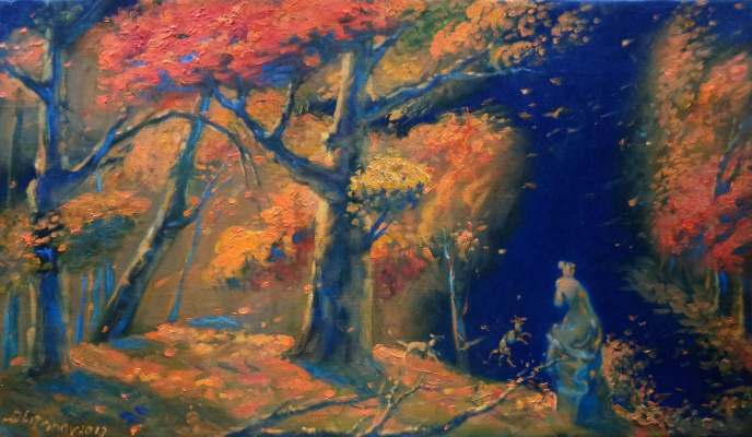 Daniil Litvinov. Осень в парке