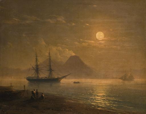 Ivan Constantinovich Aivazovski. The Bay of Naples