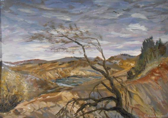 Владимир Иванович Осипов. Rainy april