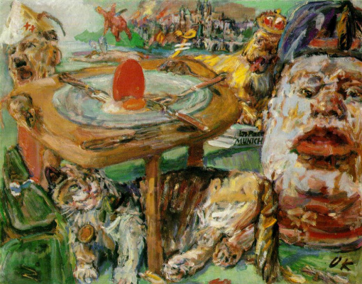 Oskar Kokoschka. Red Egg