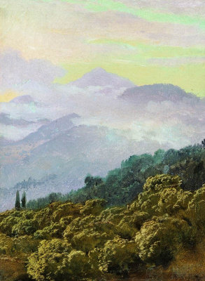 Vasily Vasilyevich Vereshchagin. View of the Crimean mountains