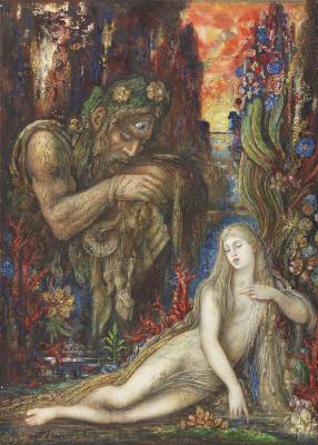 Gustave Moreau. Galatea