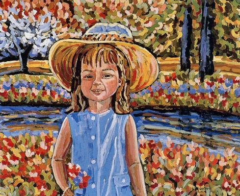 Марта Лилиам Гоуетте-Сааведра. Наши цветники