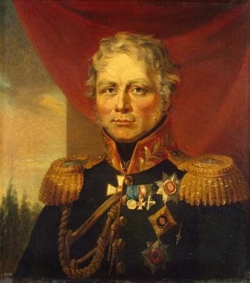 George Dow. Portrait of Ferdinand Fedorovich Wintzingerode
