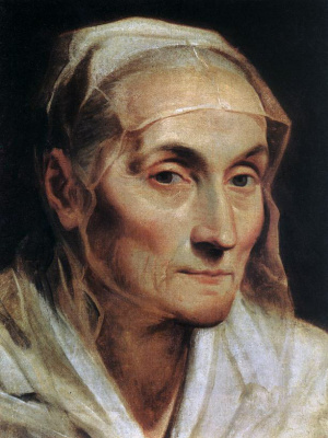 Guido Reni. Portrait of an elderly woman