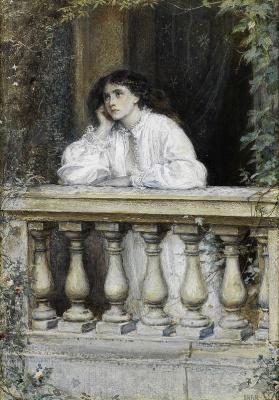 John Everett Millais. Dreams at dawn