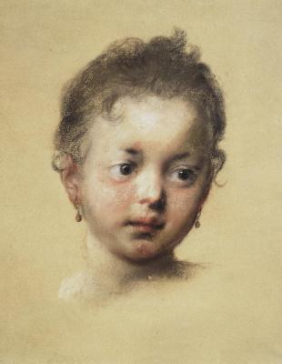 Rosalba Carriera (Carrera). Infant head