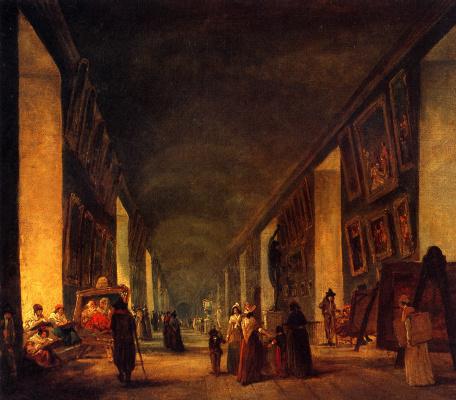 Гюбер Робер. Большая галерея