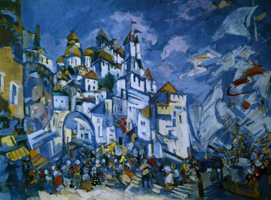 Konstantin Korovin. The invisible city of Kitezh