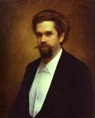 Ivan Nikolayevich Kramskoy. Portrait of the cellist S. Y. Morozov