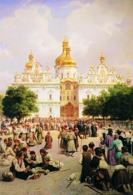 Василий Петрович Верещагин. Великая церковь Киево-Печерской лавры