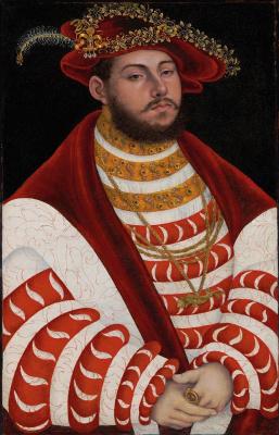 Портрет Иоганна Фридриха I, курфюрста Саксонии